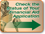 Check the status of your Financial Aid application...