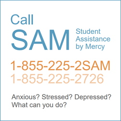Call SAM - Student Assistance by Mercy