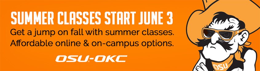Academic Calendar Osu.Summer 2019 Oklahoma State University Oklahoma City