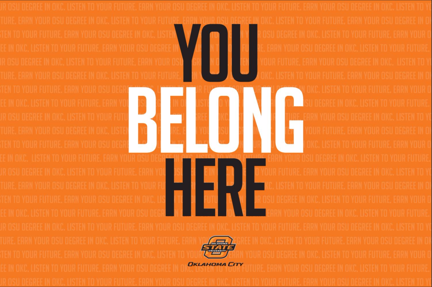 You belong here at OSU-OKC!