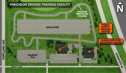 Precision Driving Training Facility Features Oklahoma State
