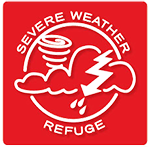 Severe Weather Refuge Sign