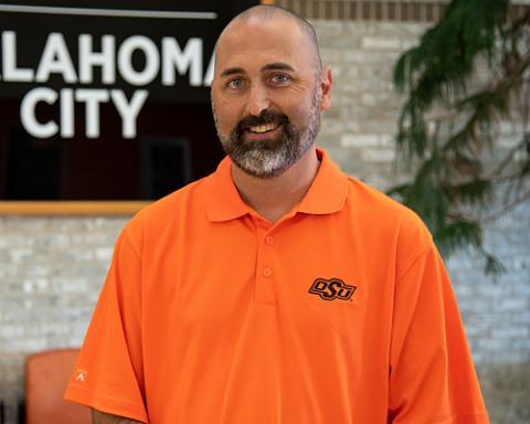 Cordell Jordan, senior director of marketing and communications at Oklahoma State University-Oklahoma City