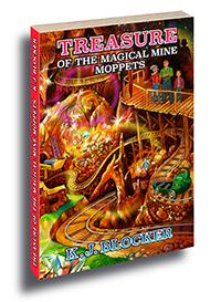 The cover of Treasure of the Magical Mine Moppets
