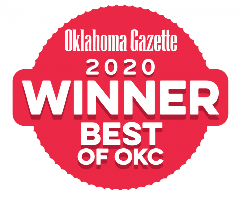 OK Gazette 2020 Winner Best of OKC